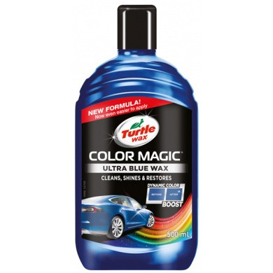 Turtle Wax Color Magic Blauw - Ultra Blue - 500ml