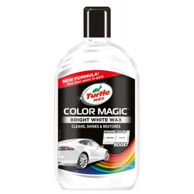 Turtle Wax Color Magic Wit - Bright White - 500ml