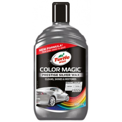 Turtle Wax Color Magic Zilver - Prestige Silver - 500ml