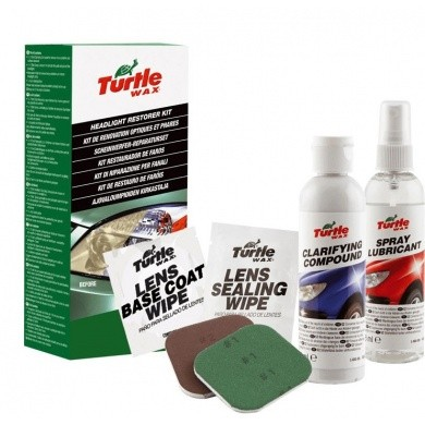 TURTLE WAX Headlight Restorer Kit - Koplamp Reparatieset
