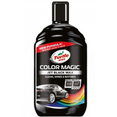 TURTLE WAX Color Magic Jet Black 500 ml