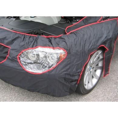 Universele nylon beschermhoes voorzijde auto zonder magneten