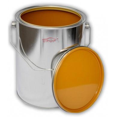 Leeg Verfblik 5 liter + Deksel *GECOAT* voor watergedragen lakken
