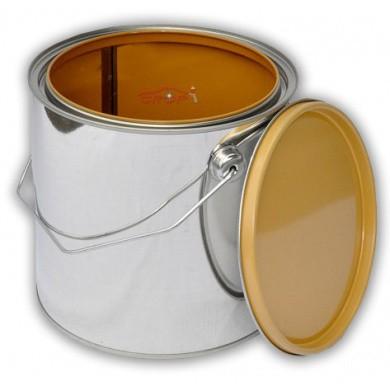 Leeg Verfblik 2,5 liter + Deksel *GECOAT* voor watergedragen lakken