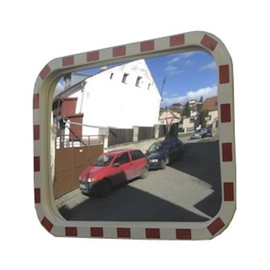 Traffic Safety Mirror Acryl 800x1000mm, Rectangular Model