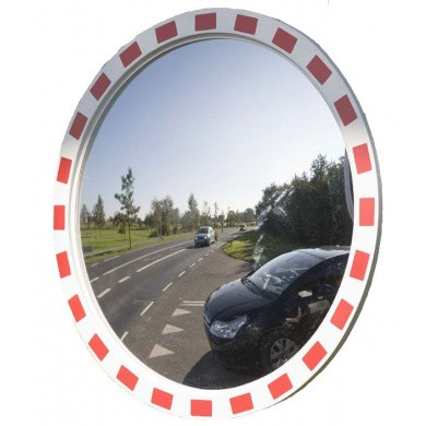 Traffic Safety Polycarbonate Mirror 900mm, Round Model