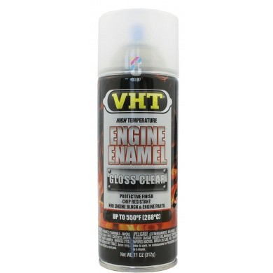 VHT Engine Enamel MOTORLAK Blanke Lak in Spuitbus