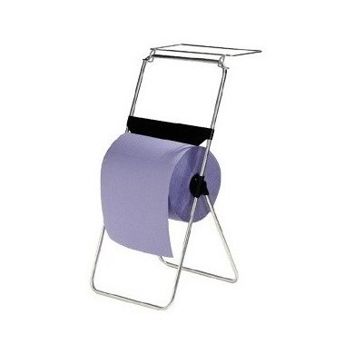 Floor Stand for Cleaning Cloths with Garbage Bag Holder