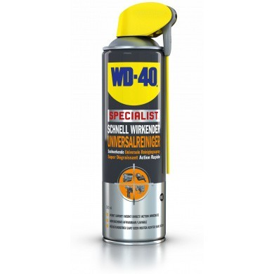 WD-40 Specialist Fast-Acting Universal Cleaning Spray in 500ml Aerosol