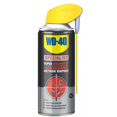 WD40 Specialist SUPER Kruipolie in 400 ml spuitbus