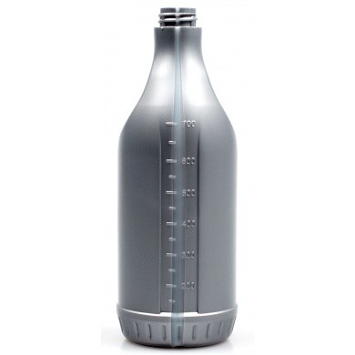 Chemical Resistant Polyethylene Bottle of 750ml - Silver Industrial Loo