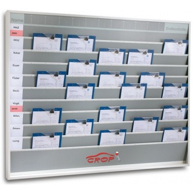 Work Order Planning Board with 10 Rows - 101575