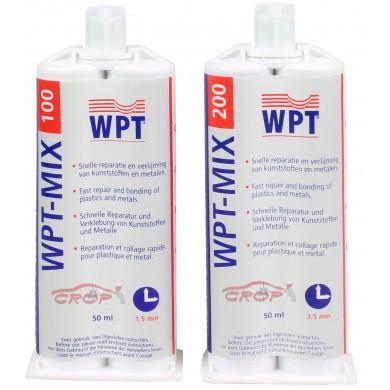 WPT-MIX verlijmingsmiddel voor kunststoffen zwart 50ml