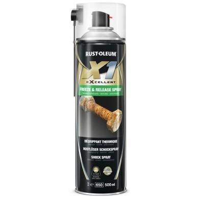 Rust-Oleum X1 Freeze Release Spray - Roestverwijderaar