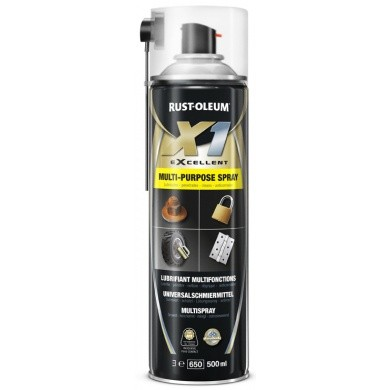 Rust-Oleum X1 Multi Purpose Spray - Multispray