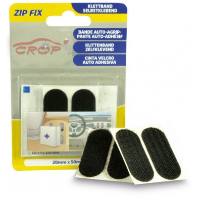 ZIP FIX Klittenband Pads