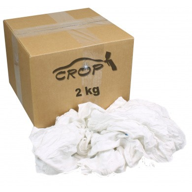 Heavy White Cloths - Small Package, 2kg
