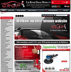 Screenshot CROP WebShop 2012
