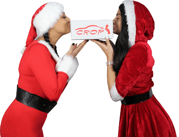 CROP Girls kiss doos